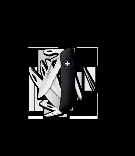 Scyzoryk SWIZA SH10R Black KST.0140.1010 GRAWER NA OSTRZU GRATIS !
