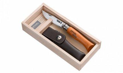 Nóż Składany Opinel No 08 Carbon Steel z etui