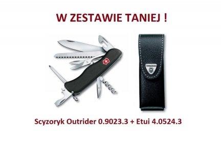 Scyzoryk Victorinox Outrider 0.9023.3 + Etui 4.0524.3