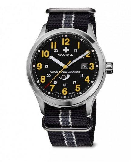 zegarek KRETOS Gent Postauto, SST, black, black WAT.0251.1011