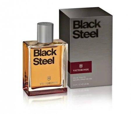 Black Steel EdT 100ml/3.4