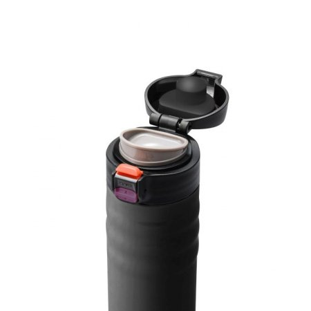 KYO - Kubek termiczny 350 ml Flip Top, czarny