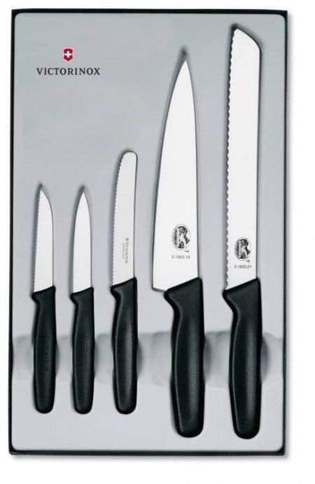Victorinox zestaw noży 5 el 5.1163.5 gw dożywotnia