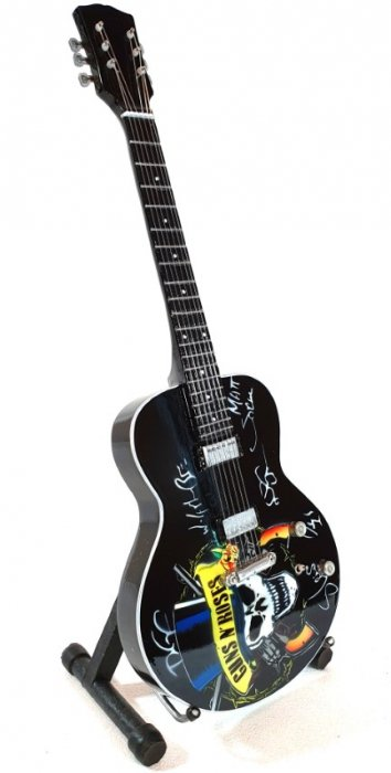 Mini gitara  Guns N' Roses - Tribute; MGT-3124B
