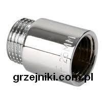 przedłużka 1/2 20mm chrom