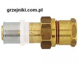 Złącze proste zaciskowo-śrubunkowe, 20*2-1/2 GW