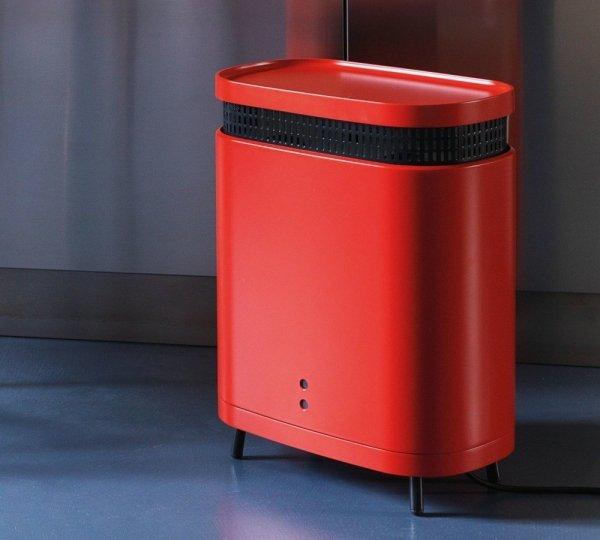 Grzejnik elektryczny Astro Tubes 440x380 CORAL RED RAL 3016 mat moc 1200W