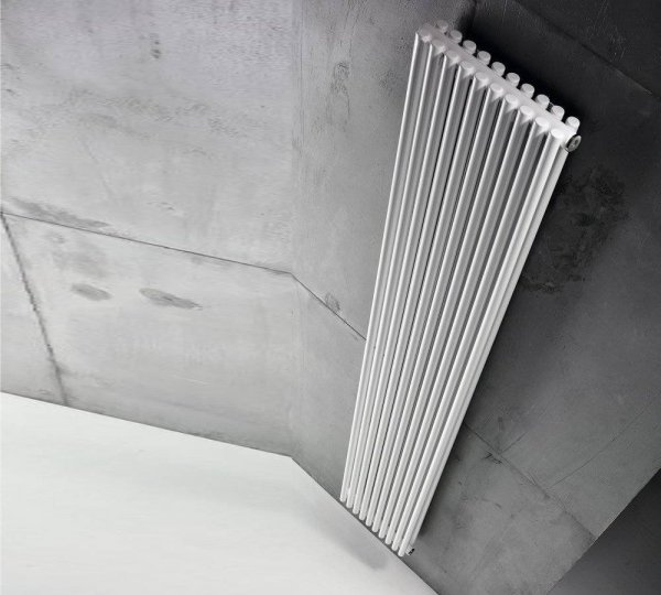 Grzejnik Antrax AV25D 500x224 [6el.] CON[5] BIAŁY BIAN moc 250W