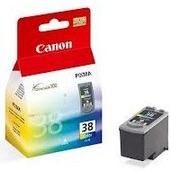 Tusz Canon CL38 do P-1800/2500, MP-140/210 | 9 ml | CMY
