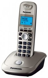 Telefon bezprzewodowy PANASONIC KXTG2511 szary (xak3040)
