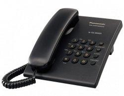 Telefon przewodowy PANASONIC KXTS500 czarny (xak3050)