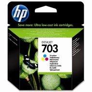 Tusz HP 703 do Deskjet Ink Advantage F730/735   250 str.   CMY