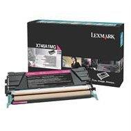 Kaseta z tonerem Lexmark do X-746/748 | zwrotny | 7 000 str. | magenta