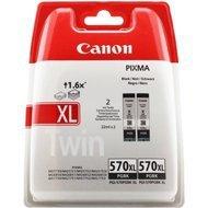 Zestaw dwóch tusz  Canon PGI-570PGBK XLdo Pixma MG-5750/6850 | 2 x 22ml | black