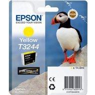 Tusz Epson  T3244  do SureColor  SC-P400 Yellow| 14,0 ml | 980 str |