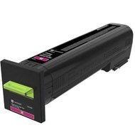 Kaseta z tonerem Lexmark 72K2XME do CS820 | korporacyjny | 22 000 str. | magenta