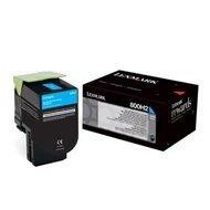 Kaseta z tonerem Lexmark 800H2 do CX410 | 3 000 str. | CYAN