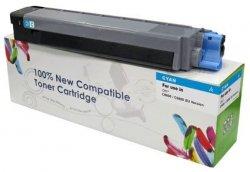 Toner Cartridge Web Cyan OKI ES8460 zamiennik 44059231