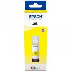 Butelka z tuszem Epson  ET103  do L31xx | 65ml | yellow