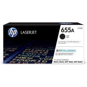 Toner HP 655A do Color LaserJet Enterprise M653/M681/M652 | 12 500 str. | black