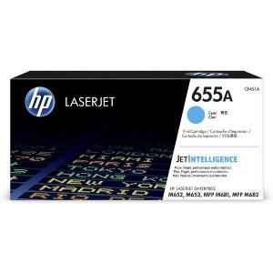 Toner HP 655A do Color LaserJet Enterprise M653/M681/M652 | 10 500 str. | Cyan