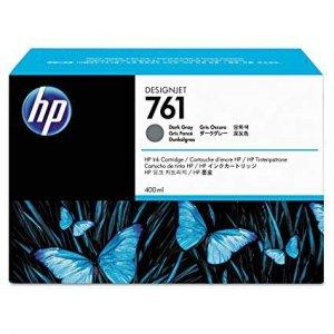 Tusz HP 761 do Designjet T7100/T7200 | 400ml | dark grey