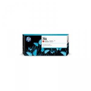 Tusz HP 746 do Designjet Z6/Z9 | 300ml | Chromatic Red