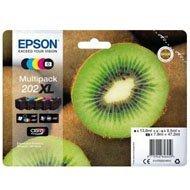 Tusz Epson  Zestaw 5 szt. 202 do XP-6000  | 1190str. | 23,3ml | cymk