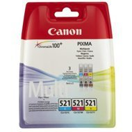 Tusz  Canon  CLI521  do  iP-3600/4600,  MP-540/620/630/980 | 3 x 9 ml | CMY