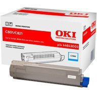 Toner Oki do C-801/821 | 7 300 str. | cyan