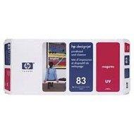Tusz + głowica + głowica czyszcząca HP 83 do Designjet 5000/5500 | UV | magenta