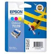 Tusz Epson  T039  do C-43SX/43UX/45 | 25 ml |   CMY