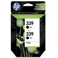 Zestaw dwóch tuszy HP 339 do Deskjet 5940/6620/6980 | 2 x 860 str. | black