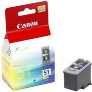 Tusz Canon  CL51  do  iP-2200/6210/6220,MP-150/170  | 21ml |  CMY