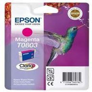 Tusz Epson T0803  do  Stylus Photo R-265/285/360 RX560  | 7,4ml | magenta
