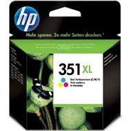 Tusz HP 351XL Vivera do Deskjet D4260/4360, Officejet J5780 | 580 str. | CMY