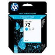 Tusz HP 72 Vivera do Designjet T610/1100/1200/1300 | 69ml | cyan