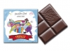 Dziecięca czekoladka mleczna 44% kakao z orzechami laskowymi