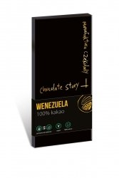 Czekolada gorzka 100% kakao z Wenezueli