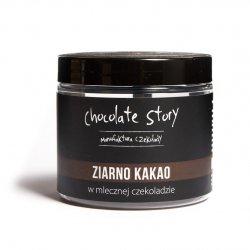 Ziarno kakao w mlecznej czekoladzie 44% 120g