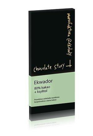 [80% kakao Ekwador] 50g + ksylitol