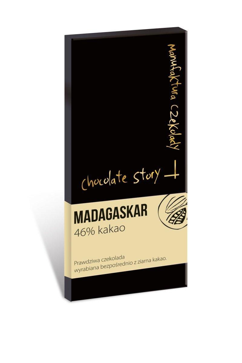 Czekolada mleczna [46% kakao Madagaskar] 50g