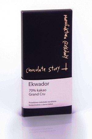 Gorzka czekolada Grand Cru [70% kakao z Ekwadoru] 50g
