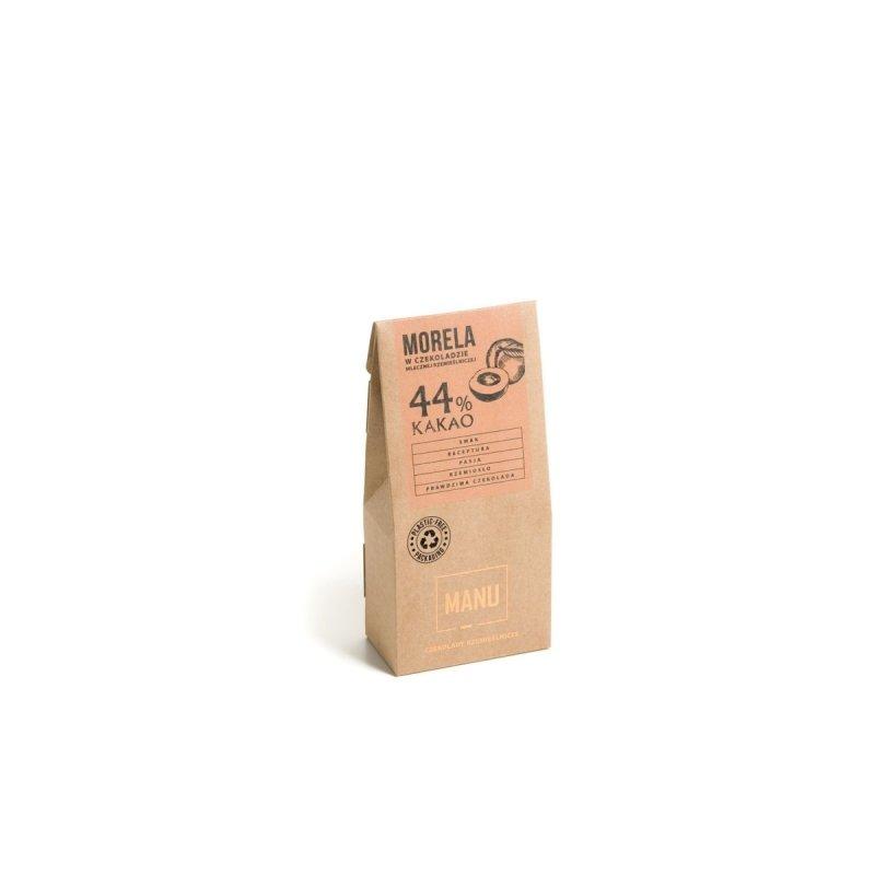 Morela w mlecznej czekoladzie 44%