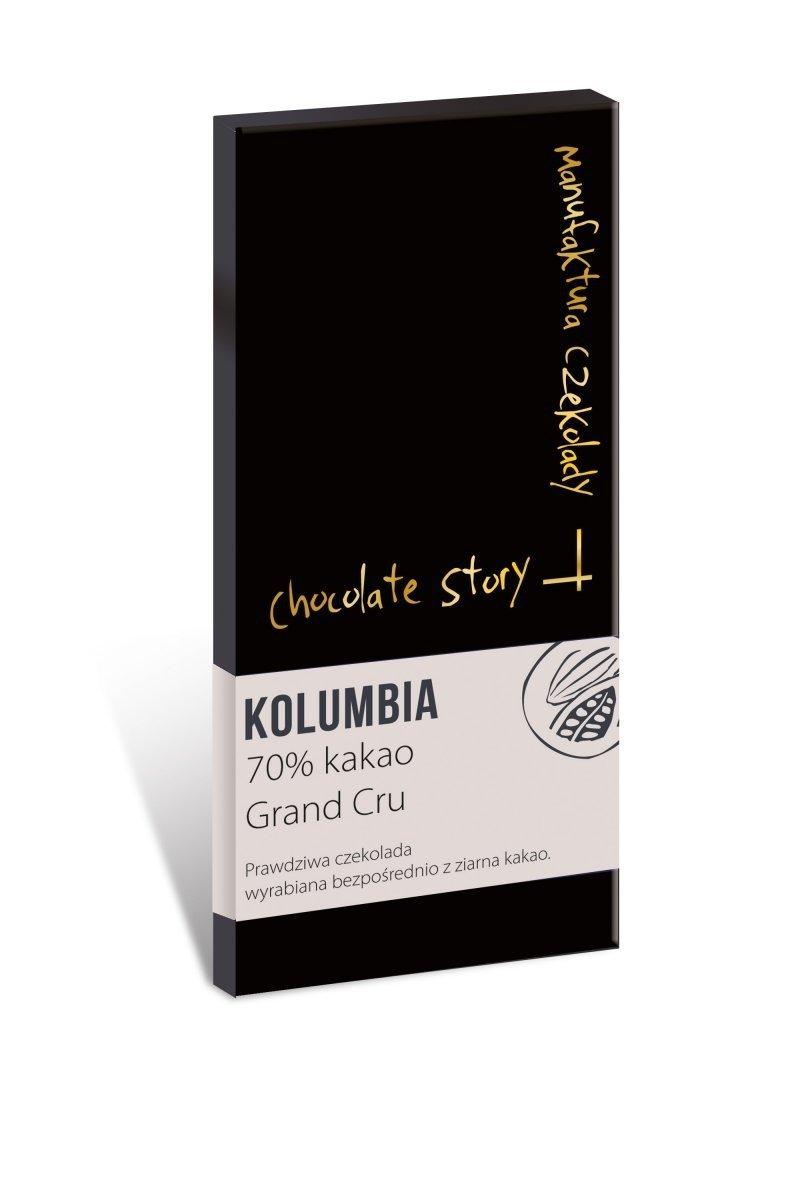 Czekolada deserowa Grand Cru [70% kakao z Kolumbii] - 50g