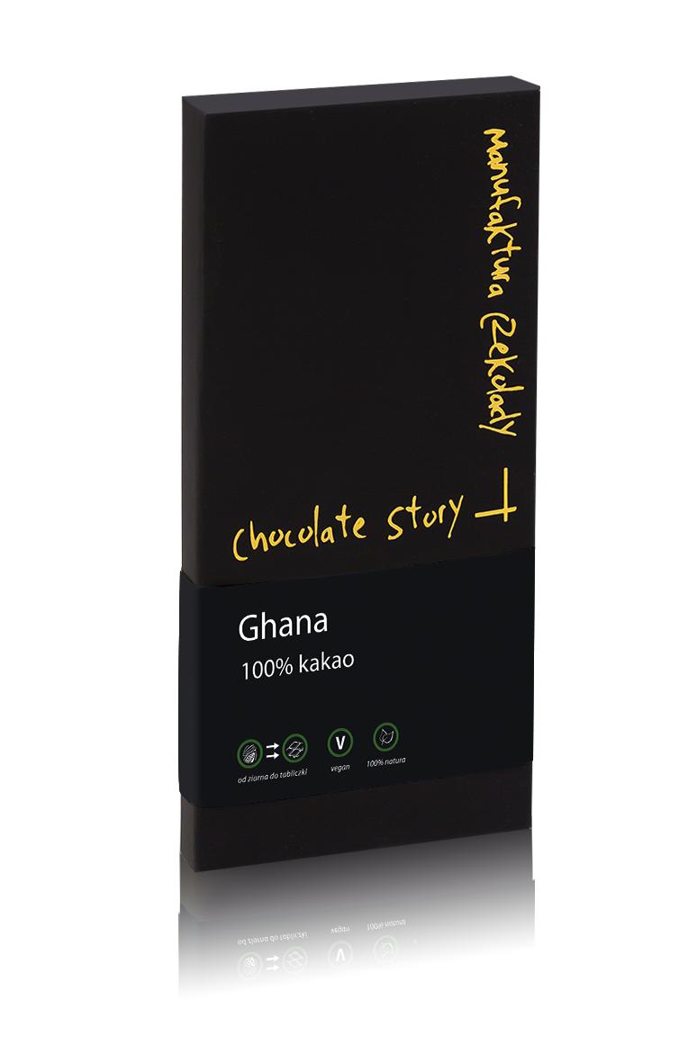 Czekolada gorzka [100% kakao Ghana] 50g