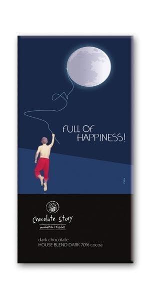 Czekolada gorzka z plakatem BALSI Full of Happiness [House Blend Dark 70%]