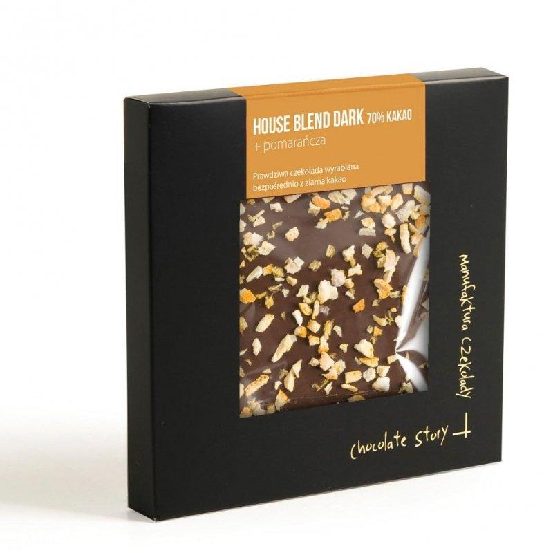 House Blend Dark 70% kakao + pomarańcza