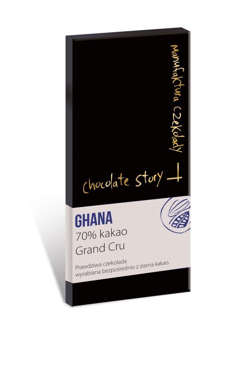 Czekolada deserowa Grand Cru [70% kakao z Ghany] - 50g