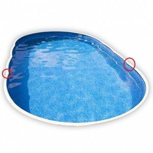 Maskownica słupka Miami / Ozdobny konektor listew basenowych Miami